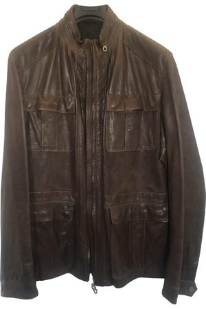Salvatore Ferragamo Leather Jackets