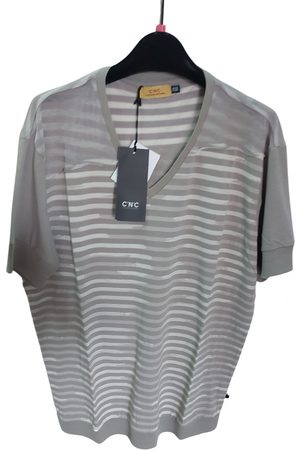 Costume National Grey Cotton T-Shirts