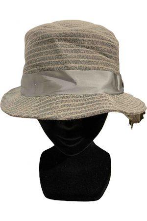 Dolce & Gabbana Grey Cotton Hats