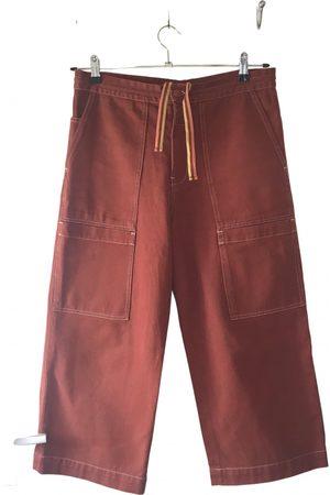 Acne Studios Blå Konst straight pants