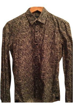Cacharel Grey Cotton Shirts