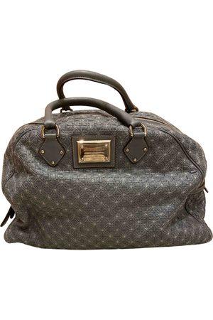 Dolce & Gabbana Grey Leather Handbags