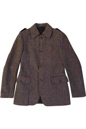 Miu Miu Grey Wool Jackets
