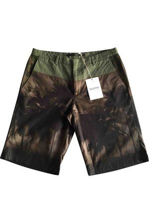VALENTINO GARAVANI Multicolour Cotton Shorts