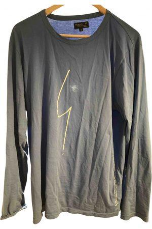 Agnès B. Grey Cotton T-Shirts