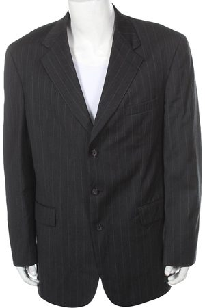Oscar de la Renta Grey Wool Jackets