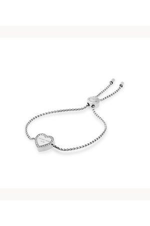 Michael Kors Women Bracelets - Women's Logo -Tone Slider Bracelet