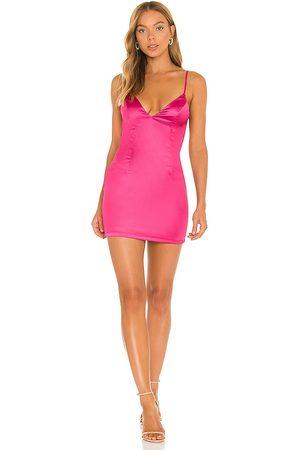 superdown Nicole Mini Dress in Fuchsia.
