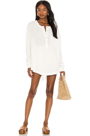 Free People Palo Santo Pullover Top in Ivory.