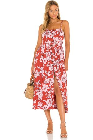 Free People The Perfect Sundress in Red.