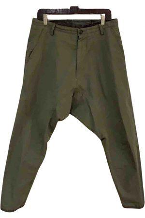 ZIGGY CHEN Cotton Trousers