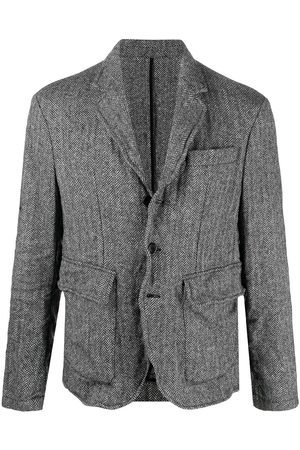 Dsquared2 Herringbone print blazer - Grey