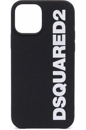 Dsquared2 Men Phones Cases - Logo-print iPhone 12 case
