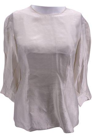 DEITAS Women Tops - Ecru Silk Tops