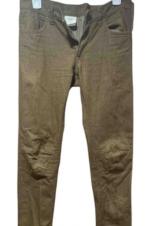 UNDERCOVER Camel Cotton Jeans