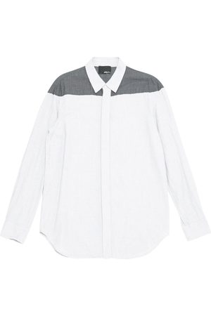 3.1 Phillip Lim Grey Cotton Shirts