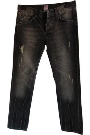 PRPS Grey Cotton Jeans
