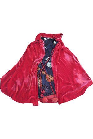Issa Velvet cape