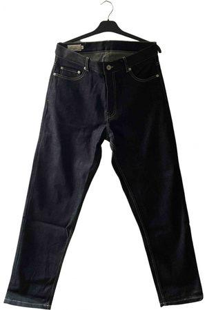 Maison Kitsuné Navy Cotton Jeans