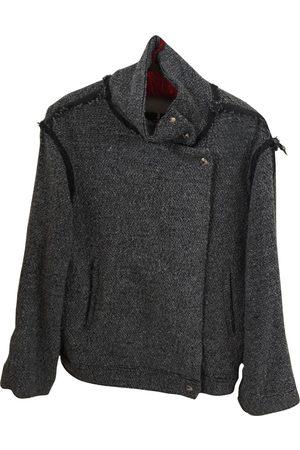 IRO Grey Cotton Jackets