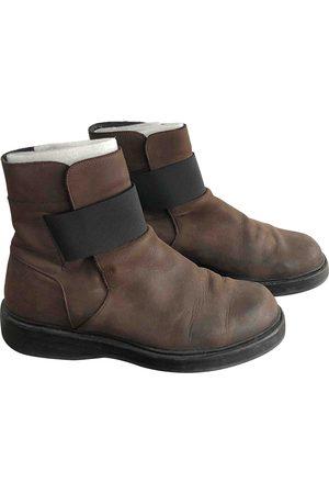 KRIS VAN ASSCHE Leather boots