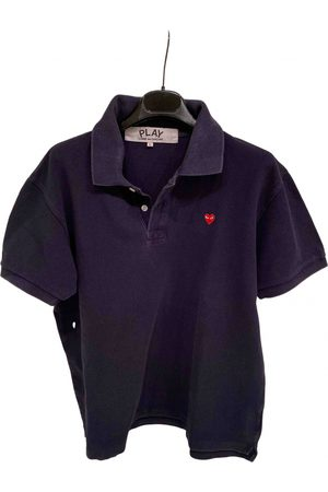Play Comme des Garçons Cotton Polo Shirts
