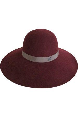 Le Mont St Michel Burgundy Wool Hats