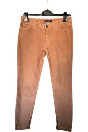 Dolce & Gabbana Velvet Trousers