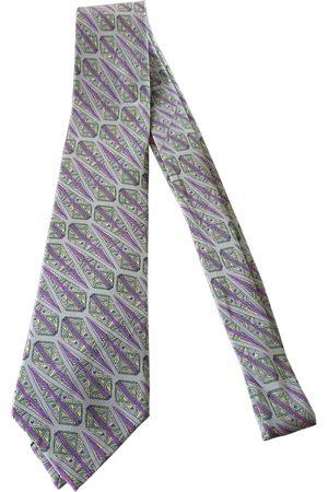 Dior Grey Silk Ties