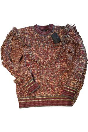 Alanui Burgundy Cashmere Knitwear