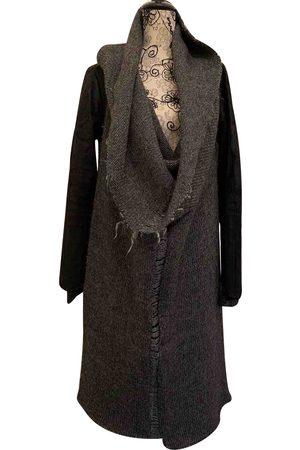 ISAAC SELLAM EXPERIENCE Women Coats - Grey Wool Coats