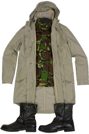 Samsøe Samsøe Khaki Cotton Coats