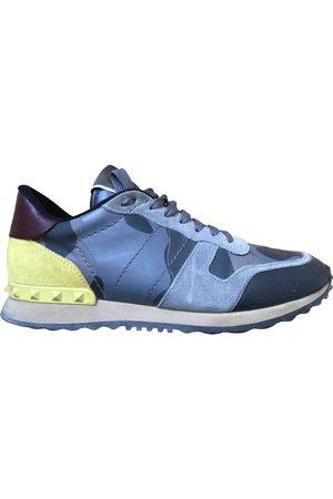 VALENTINO GARAVANI Grey Leather Trainers