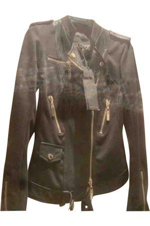 Mangano Leather biker jacket