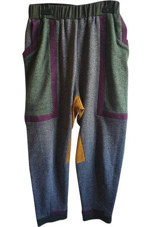 HENRIK VIBSKOV Multicolour Wool Trousers