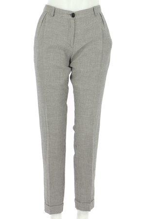 AUTRE MARQUE Grey Cotton Trousers