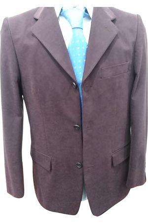 AUTRE MARQUE Burgundy Cotton Suits