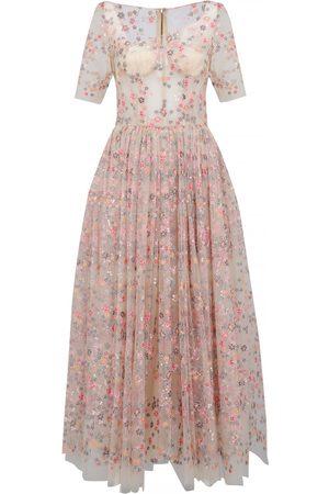Dolce & Gabbana Ecru Synthetic Dresses