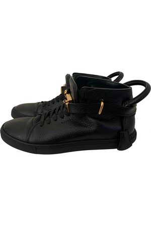 BUSCEMI Leather trainers