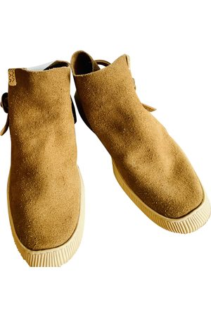 VISVIM Camel Suede Boots
