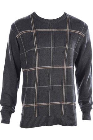 Oscar de la Renta Grey Cotton Knitwear & Sweatshirts