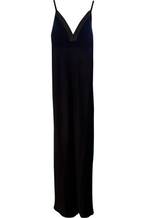Brunello Cucinelli Navy Silk Dresses