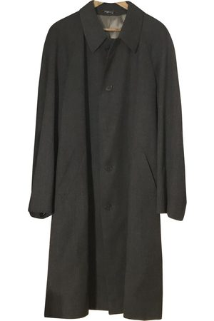 Emanuel Ungaro Anthracite Wool Coats