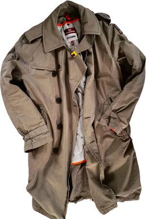 Parajumpers Khaki Cotton Coats
