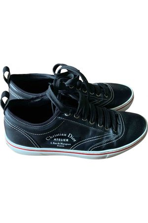 Dior Men Sneakers - Leather Trainers