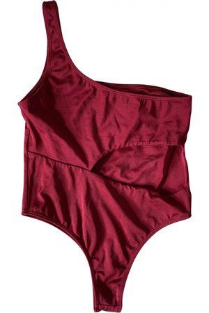 Sommer Burgundy Lycra Swimwear