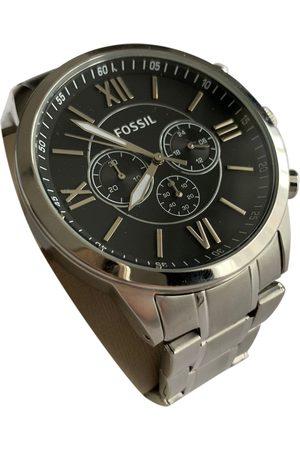 Fossil Men Watches - Metallic Steel Watches