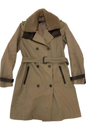 The Kooples Khaki Cotton Trench Coats