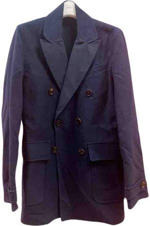 Hardy Amies Navy Cotton Jackets