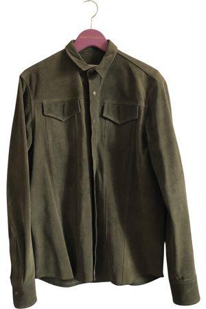 SIMON MILLER Khaki Suede Jackets